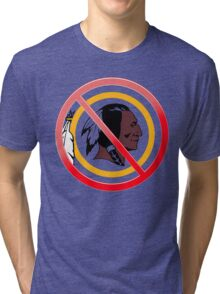 Anti Washington Redskins Tri-blend T-Shirt