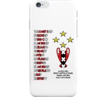 Ajax 1995 Champions League Final Winners iPhone Case/Skin