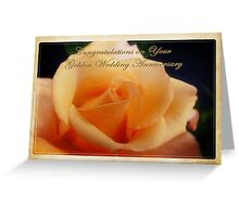 Happy Golden Anniversary Greeting Card