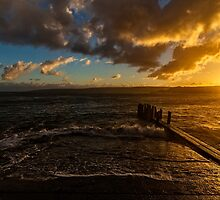 Daybreak at The Canal Rocks, Busselton, W.A. by Sandra Chung