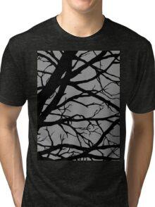 Silver Grey Tree Tri-blend T-Shirt