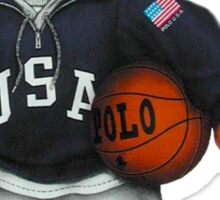 Polo Bear Basketball - Ralph Lauren  Sticker