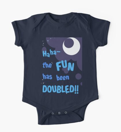 Quotes and quips - the fun has been doubled One Piece - Short Sleeve