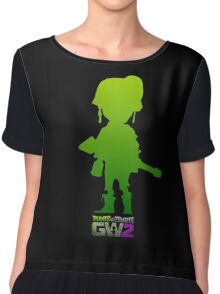 plants vs zombies garden warfare 2 Chiffon Top