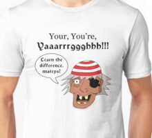 Grammar Pirate Unisex T-Shirt