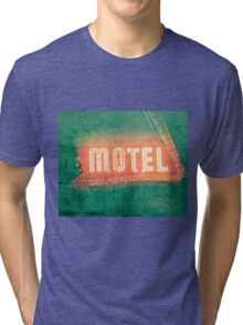 Old Motel Tri-blend T-Shirt