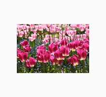 Fields of Pink Tulips Unisex T-Shirt
