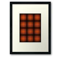 Girder Grid #1 Framed Print