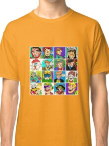 Face Collage 2 Classic T-Shirt