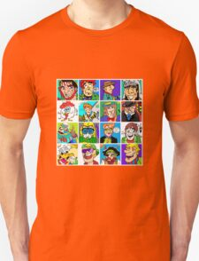 Face Collage 2 Unisex T-Shirt