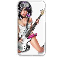 Rocker Chick iPhone Case/Skin