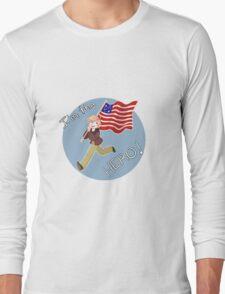 "Aph!America ""I'm The Hero"" Hetalia (1) Long Sleeve T-Shirt"