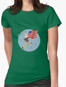 "Aph!America ""I'm The Hero"" Hetalia (1) Womens Fitted T-Shirt"