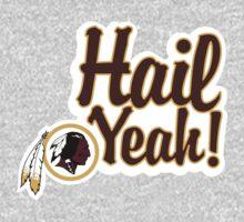 Redskins Hail Yeah One Piece - Long Sleeve