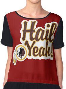Redskins Hail Yeah Chiffon Top