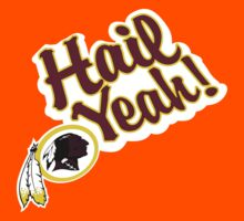 Redskins Hail Yeah Kids Tee