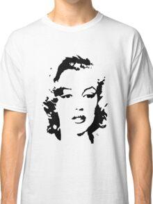 Marilyn Monroe #1 (black & white) Classic T-Shirt