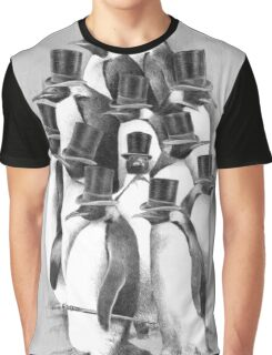A Gathering of Gentlemen Graphic T-Shirt