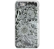 Tangled Blooms #2 iPhone Case/Skin