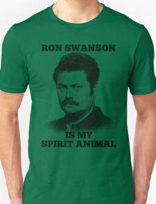 Ron Swanson is my spirit animal Unisex T-Shirt