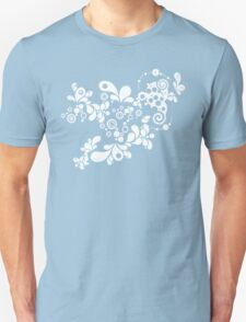 Cool Enchanting Summer - Vintage Twirls Unisex T-Shirt