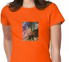 Palm Tree in Santa Monica Womens Fitted T-Shirt