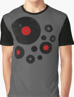 Vintage Vinyl Records Music DJ inspired design Graphic T-Shirt