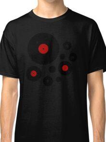 Vintage Vinyl Records Music DJ inspired design Classic T-Shirt