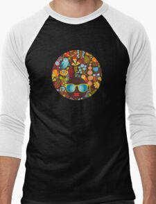 Owly Men's Baseball ¾ T-Shirt