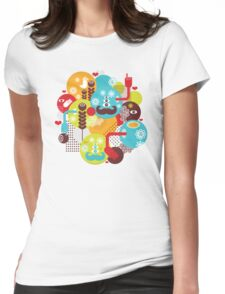Spring time Womens Fitted T-Shirt