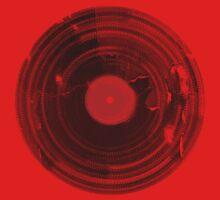 Vinyl Record Vintage Grunge Retro Kids Tee