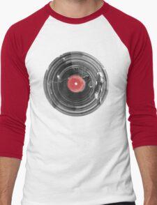 Vinyl Record Vintage Grunge Retro Men's Baseball ¾ T-Shirt