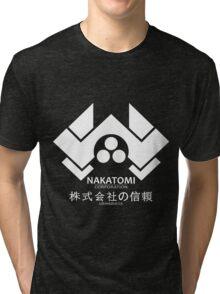HARD NAKA TOMI Tri-blend T-Shirt