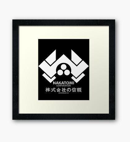 HARD NAKA TOMI Framed Print