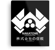 HARD NAKA TOMI Metal Print
