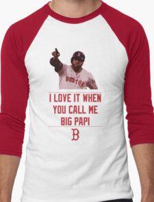 Big Papi Men's Baseball ¾ T-Shirt