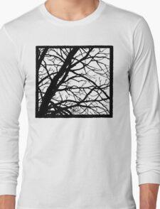 Tree Shadow Long Sleeve T-Shirt