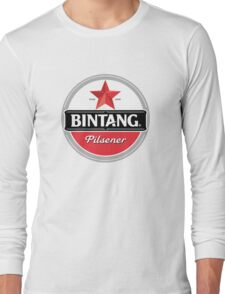 Bintang beer Long Sleeve T-Shirt
