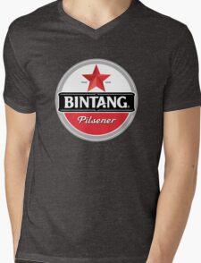 Bintang beer Mens V-Neck T-Shirt
