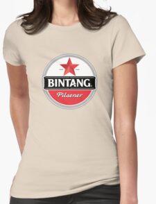 Bintang beer Womens Fitted T-Shirt