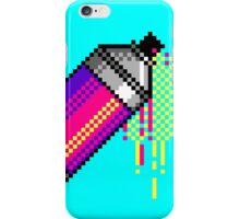 Spray paint - Pink iPhone Case/Skin