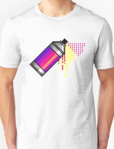 Spray paint - Pink T-Shirt