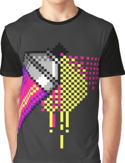 Spray paint - Pink Graphic T-Shirt