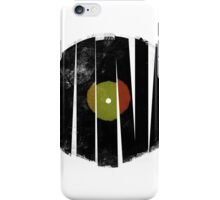 Cool Broken Vinyl Record Grunge Vintage iPhone Case/Skin