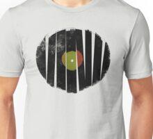 Cool Broken Vinyl Record Grunge Vintage Unisex T-Shirt