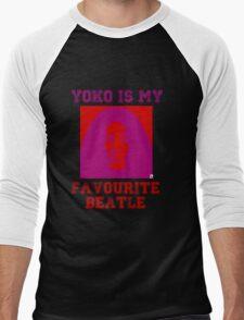 Yoko Is My Favourite Beatle Men's Baseball ¾ T-Shirt