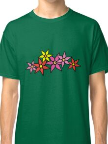 Cute and Colorful Blossoms Classic T-Shirt
