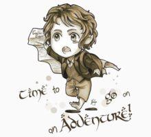 Chibi Bilbo by kurocyou