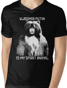 Putin is my spirit animal Mens V-Neck T-Shirt