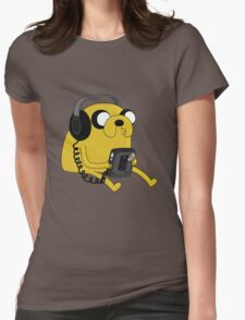 JAKE THE DOG Womens Fitted T-Shirt